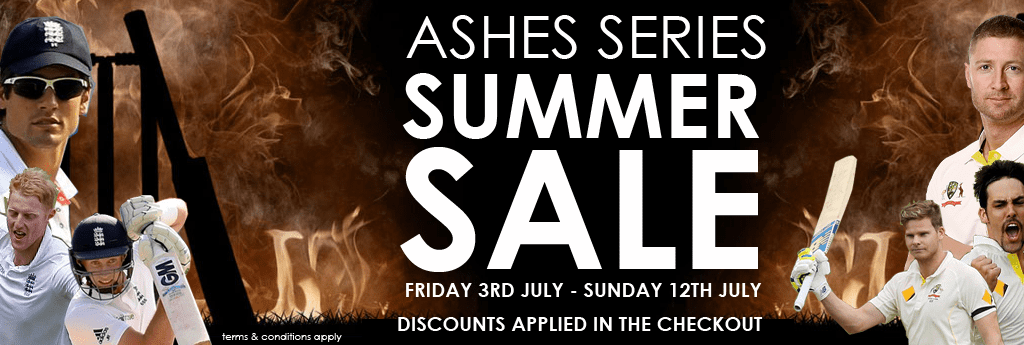 Ashes Summer Sale Starts Now