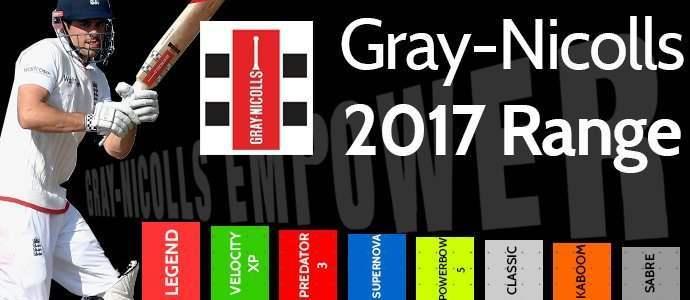 Gray-Nicolls 2017 Range