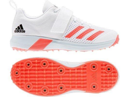ADIDAS Adipower Vector White Cricket Shoes