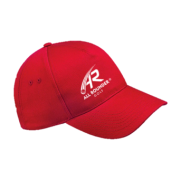 All Rounder Golf Red Baseball Cap