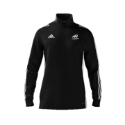 All Rounder Golf Adidas Black Zip Training Top