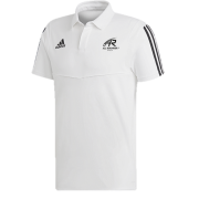 All Rounder Golf Adidas White Polo