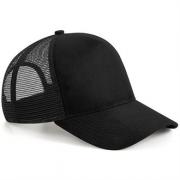 Camp Active Black Trucker Hat