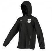 Pudsey Congs CC Adidas Black Rain Jacket