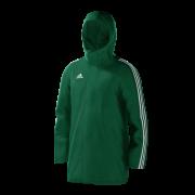 Malvern College Green Adidas Stadium Jacket