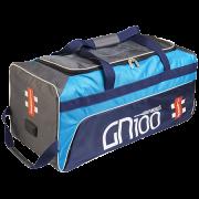 2020 Gray Nicolls GN 100 Wheelie Cricket Bag - Blue