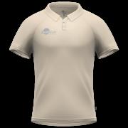 Samurai Cream Short Sleeve Cricket Shirt