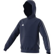 Finsley Finest Social Club Adidas Navy Fleece Hoody