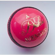 Dukes Avenger 'A' Pink Cricket Ball