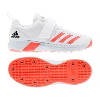 2021 Adidas Adipower Vector Cricket Shoes - Solar Red