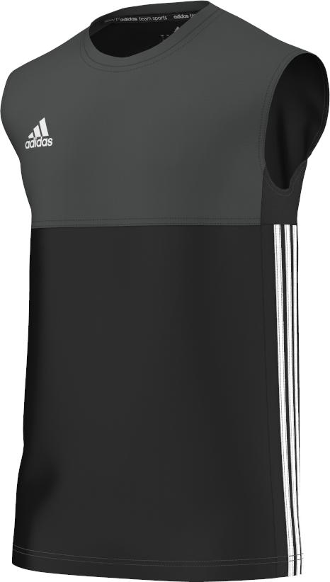Egerton Park CC Adidas Black Training Vest