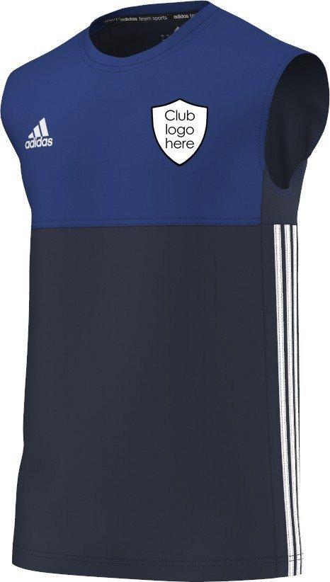 Chappel & Wakes Colne CC Adidas Navy Training Vest