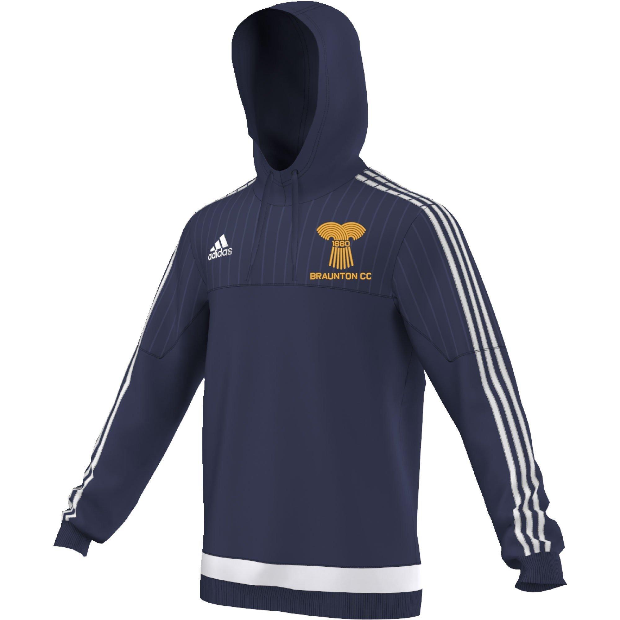Braunton CC Adidas Navy Hoody
