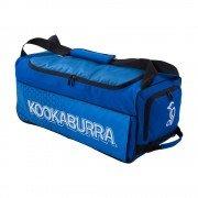 2020 Kookaburra 5.0 Wheelie Cricket Bag - Navy/Cyan