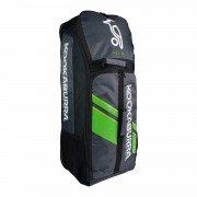 2021 Kookaburra Pro d2.0 Duffle Cricket Bag - Black/Lime