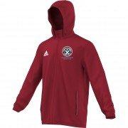 Guilsfield & Llandrino CC Adidas Red Rain Jacket