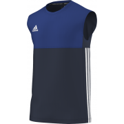 Buxworth Buxworth CC Adidas Navy Training Vest