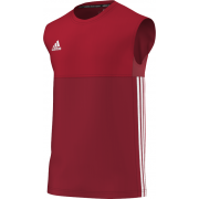 St George's University AFC Adidas Red Training Vest