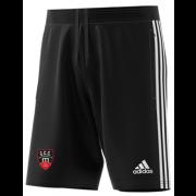 Churchtown CC Adidas Black Junior Training Shorts
