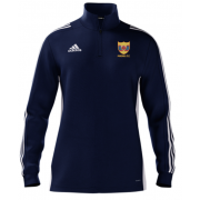 Maghull CC Adidas Navy Zip Junior Training Top