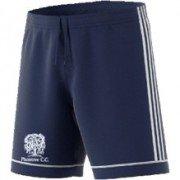 Plumtree CC Adidas Navy Junior Training Shorts