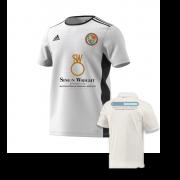 Streatham and Marlborough CC White Training Jersey