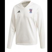 University of Sussex CC Adidas Elite Long Sleeve Sweater