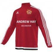 Osbaldwick FC Adidas Red Training Top
