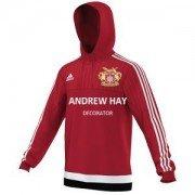 Osbaldwick FC Adidas Red Hoody