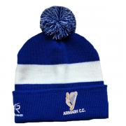 Armagh CC AR Blue Bobble Beanie