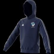 Baldock Town CC Adidas Navy Fleece Hoody