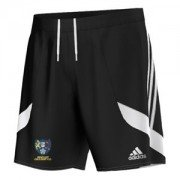 Bentley Colliery CC Adidas Black Junior Training Shorts
