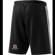Ellesmere CC Adidas Black Training Shorts