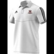 Ellesmere CC Adidas White Polo