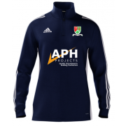 Great Bromley & District CC Adidas Navy Zip Training Top