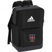 St Helens Town CC Black Training Bag