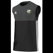 Hirst Courtney CC Adidas Black Training Vest