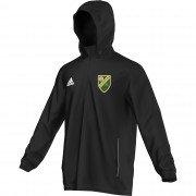 Marston Green CC Adidas Black Rain Jacket