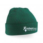 Hatfield Town CC Green Beanie