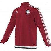 Guilsfield & Llandrino CC Adidas Red Training Top