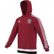 Guilsfield & Llandrino CC Adidas Red Hoody