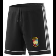 Devizes CC Adidas Black Training Shorts