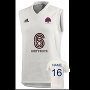 Witley CC Adidas Elite Junior Sleeveless Sweater