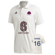 Witley CC Adidas Elite Junior Short Sleeve Shirt