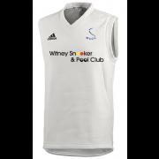 Witney Swifts Adidas Elite Junior Sleeveless Sweater