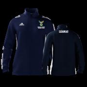 Reigate Priory CC Adidas Navy Zip Junior Training Top