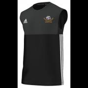 Shipton Under Wychwood CC Adidas Black Training Vest