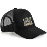 Clipstone and Bilsthorpe CC Black Trucker Hat