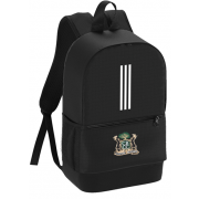 Clipstone and Bilsthorpe CC Black Training Backpack