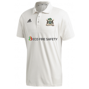 Clipstone and Bilsthorpe CC Adidas Elite Junior Short Sleeve Shirt